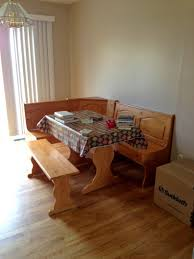 Kitchen Booth Ideas Furniture by Kitchen Design Inspiring Single Wooden Bench My Kitchen Table