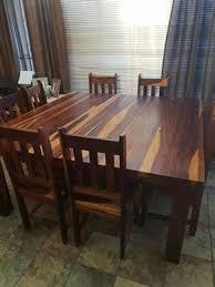 R 20 000 For Sale Solid Kiaat Dining Room Set