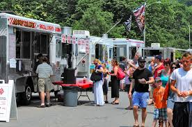 100 Food Trucks Boston Schedule Table Hoppin Truck Festival To Roll Into Common