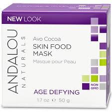 Andalou Naturals Glycolic Mask Pumpkin Honey by Andalou Naturals Skin Food Mask Avo Cocoa Age Defying 1 7 Oz