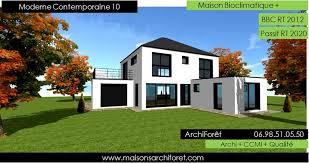 maison en cube moderne maison moderne prix
