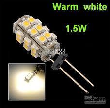 g4 1 5w mr11 mr16 gu5 3 led bulb 25 smd warm white led rv marine