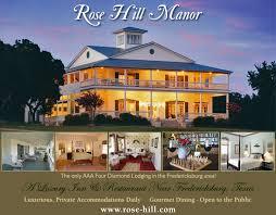 Fredericksburg Texas line Rose Hill Manor Bed & Breakfast