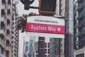 100 1 Blue Jays Way Fans Just Illegally Renamed To Raptors