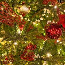 Decorative Items Used In Christmas Tree