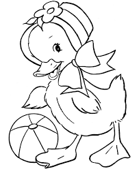 Easter Chicks Coloring Page