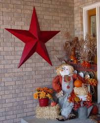 CenterMary Created A Beautiful Fall Display And Accented With 53 Rustic Radiant