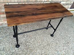 Amazon.com: Reclaimed Wood Desk Table - Solid Oak W/ 28
