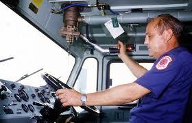 100 Inside A Fire Truck Cecil Lockhardt Of The Station Fire Department Pumps A Water Gun