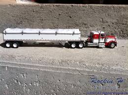 Custom Grain Trucks - Rockin H Farm Toys
