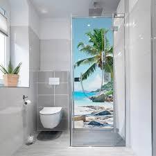 myspotti duschrückwand fresh f2 seychellen 90 x 210 cm