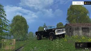 100 Ford Truck Games 1972 FORD V11 Farming Simulator 2019 2017 2015 Mod