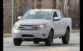New Ford Ranger Seen On Test Drive?