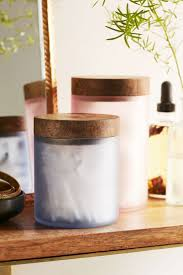 Pink Mercury Glass Bathroom Accessories by 16 Baskets Bottles And Other Beautiful Bathroom Storage