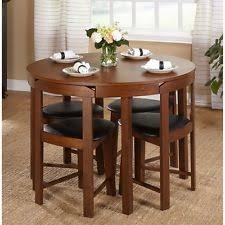 Round Dining Room Set For 4 by Small Dining Table Ebay