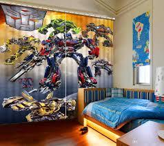 Schlafzimmer Vorhã Nge Großhandel Kreative 3d Vorhänge Schöne Roboter Malerei Wohnzimmer Schlafzimmer Dekoration Vorhang Yiwu2017 58 98 Auf De Dhgate Dhgate
