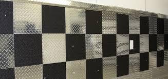 Foam Tile Flooring With Diamond Plate Texture by Diamond Plate Trim Baseboard U0026 Molding Aluminum Molding