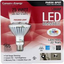 feit electric par30 dimmable led flood 75 watt replacement uses 15
