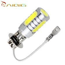 h3 led high power 6w white light car led bulb car led bulbs