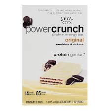 Power Crunch Bar 14 Grams Of Protein Cookies Crme Oz 5 Ct