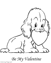 Valentine Stunning Valentines Day Free Coloring Pages