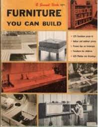 1960s mid century modern furniture you can build design plans