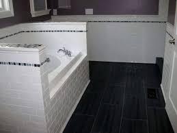 bathroom daltile subway tile railroad tile pattern ceramic tile