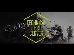 siege test rainbow six siege technical test servers week tts