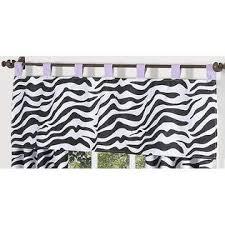 Sweet Jojo Zebra Curtains by Sweet Jojo Designs Zebra Purple Collection 4pc Twin Bedding Set