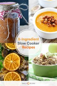 9 Easy 5 Ingredient Slow Cooker Recipes