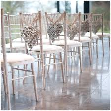 Alternative To Wedding Chair Covers Chivari Decorations Bead Hire Crystal Garlands Twine Hearts Rustic Decoration