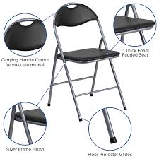 Black Vinyl Folding Chair YB-YJ806H-GG | ChurchChairs4Less.com Fabric Padded Seatmolded Fan Back Folding Chair By Cosco 4400 Portable Chairs For Any Venue Clarin Seating The 7 Best Chairs Of 2019 White Resin Lel1whitegg Bizchaircom Wood Xf2901whwoodgg Foldingchairs4lesscom National Public 3200 Series Xl 2inch Vinyl 2 Taller Quad Black Lel1blackgg Deluxe Seat Flash Fniture Plastic With 21 Beach