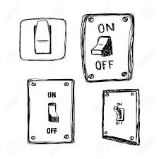 Light Switch Hand Clipart