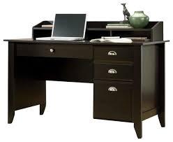 Sauder Heritage Hill 60 Executive Desk by Sauder Shoal Creek Desk In Jamocha Wood Transitional Desks And