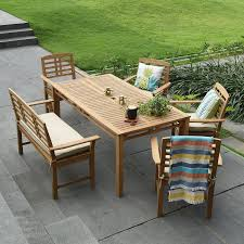 Havenside Home Goodwin 6-piece Teak Patio Dining Set And Teak Fniture Timber Sets Chairs Round Porch Fa Wood Home Decor Essential Patio Ding Set Trdideen As Havenside Popham 11piece Wicker Outdoor Chair Sevenposition Eightperson Simple Fpageanalytics Design Table Designs Amazoncom Modway Eei3314natset Marina 9 Piece In Natural 7 Brampton Teak7pc Brown Classics