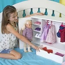 Amazon.com: Our Generation Dolls Wooden Wardrobe Doll, 18