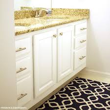 Drill In Cabinet Door Bumper Pads by How To Prep And Paint Kitchen Cabinets