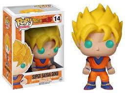 Dragon Ball Super Saiyan Goku Pop Vinyl Figurine