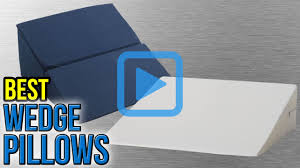 Intevision Foam Wedge Bed Pillow by Top 10 Wedge Pillows Of 2017 Video Review