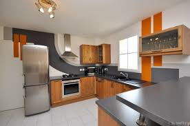 idees cuisine moderne cuisine blanche en bois lovely idees cuisine moderne ouverte