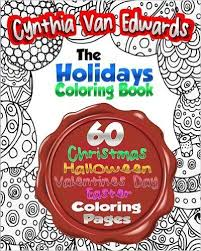 The Holiday Coloring Book For Adults Adult Of 60 Different Stress Relieving