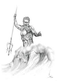 About The Artwork Poseidon In Greek Mythology Is God Of Sea He