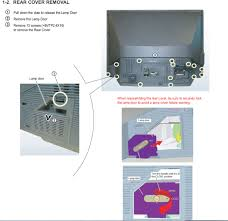 Sony Xl 2400 Replacement Lamp Instructions by I Bought A Xl 2400 Casing And Bulb To Replace It On A 48
