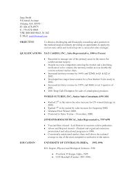 Job Objective For Sales Associate
