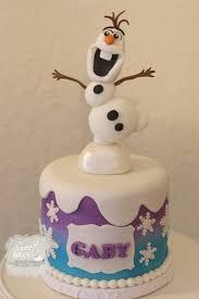 astuces maison bonhomme de neige sur tarte gâteau anniversaire