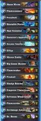 Mage Deck Hearthpwn Antonidas by What Tempo Mage Decks Are The Ones That Are Played Atm And Are