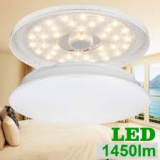 le deckenleuchte ersetzt 120w glühbirne 40w leuchtstoffröhre 18w warmweiße ø36cm 3000k 1450lm 120 abstrahlwinkel led deckenle deckenbeleuchtung