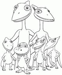 Free Printable Pteranodon Dinosaurus Coloring Pages For Kids
