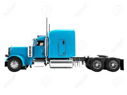 100 Truck Tractor Modern For Cargo Transportation Three Axle Without