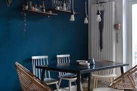 farbfreude esszimmer in petrolblau i kolorat